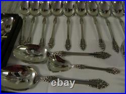 Oneida Heirloom Stainless REMBRANDT Srvc for 12, Iced Tea Spoons, Serving 79pc