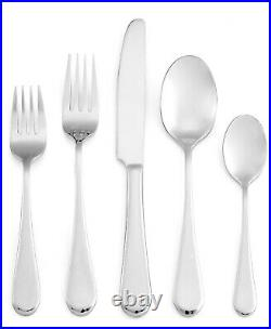 Oneida Icarus 50 Piece 18/10 Stainless Fine Flatware Set, Service for8
