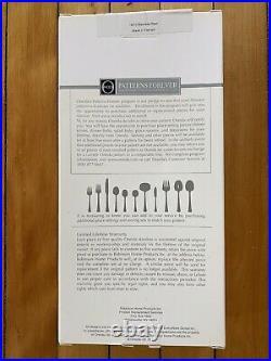 Oneida Juilliard stainless Flatware Set, 46 Pieces (service For 8 + Serving Set)