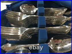 Oneida Kenwood Community Stainless Lot Of 70 Pieces All In Excellent Condition