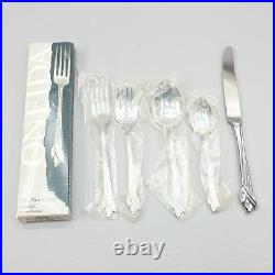 Oneida Leander 5 Piece Place Setting Stainless Flatware Dinner Knife Forks Spoon