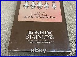 Oneida Louisiana Community stainless flatware 20 pieces