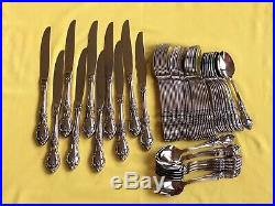 Oneida Louisiana Community stainless flatware Set of 60 pieces