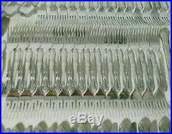 Oneida Ltd WM A Rogers FENWAY DAYDREAM 22+ Settings Stainless Flatware Set 164pc