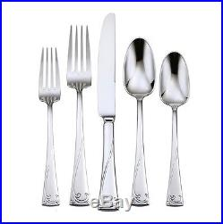 Oneida Lyric Service for 8 Plus Serving Set 18/10 Stainless Flatware