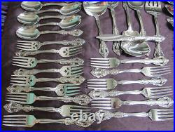 Oneida Michaelanglo Stainless Flatware Service for 12 Plus 6 Serving Piece