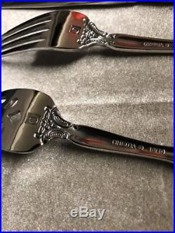 Oneida Michelangelo 45-Piece Flatware Set Service for 8 18/10 stainless steel