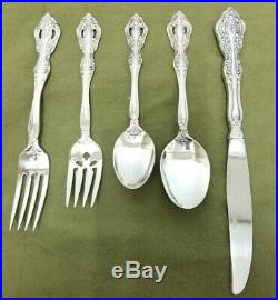 Oneida Michelangelo Heriloom Stainless Service for 11 55PC Flatware Place Set