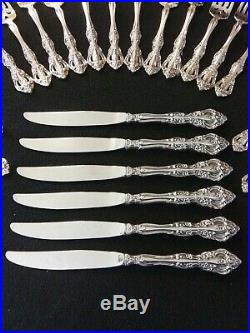 Oneida Michelangelo Stainless Flatware 30pc Set Service for 6 Heirloom setting
