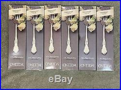 Oneida Morning Blossom Deluxe Stainless USA flatware Set of 30 pieces. New
