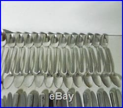 Oneida Oceanic Stainless Flatware Odd Lot of 110pc Stainless by Oneida