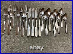 Oneida Paul Revere Community Stainless satin flatware 20 pieces set