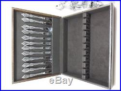 Oneida RAPHAEL Distinction Deluxe Stainless 91pcs 12 Place Settings 7 Serving pc