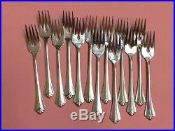 Oneida ROYAL FLUTE community stainless flatware set
