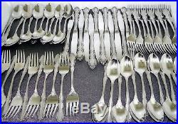 Oneida Satin Dover 60 Piece Fine Stainless Flatware Set, Service for 12 Made USA