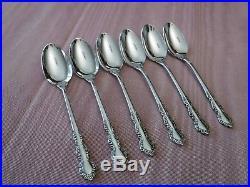 Oneida Shelley Heirloom Cube Demitasse Spoons Set of 6
