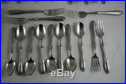 Oneida Sheraton 39 Piece Fine Flatware Set Hollow Handle Stainless Service for 8