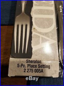 Oneida Sheraton 5-Piece Flatware Set, Service for 4