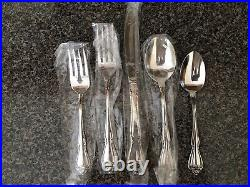 Oneida Stainless ARBOR ROSE 18/8 USA 20 Piece Service for 4 TRUE SONG CHAPLET
