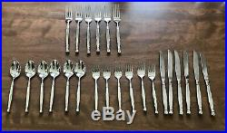 Oneida Stainless Act 1 Glossy 4 Pieces Knife Fork Table Spoon 6 Sets 24 Total