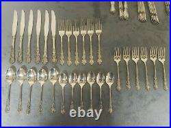 Oneida Stainless Cube USA Flatware Shelley 29 pieces