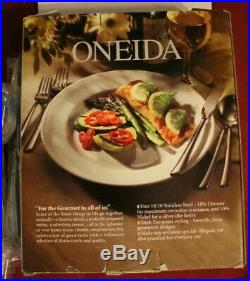 Oneida Stainless FLAMBE 18/10 20 Piece Service for 4 Unused China Flatware
