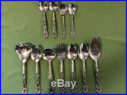 Oneida Stainless Flatware CHANDELIER 84 Piece / 6 Place Setting +