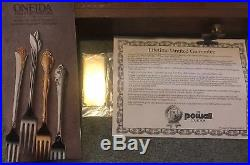 Oneida Stainless Flatware DOVER Pattern, 12 Place Settings, 66 pieces