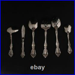 Oneida Stainless Flatware MICHELANGELO Set of 36 6 Place Settings 6 pc Serving