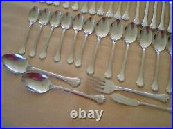 Oneida Stainless Flatware MIDTOWNE 34 Pcs Setting for 6 + Serving FREE SHIP