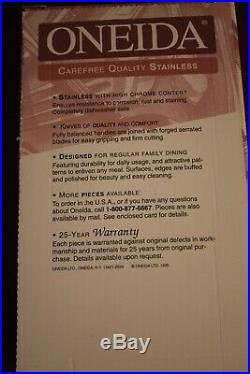 Oneida Stainless GALA IMPULSE 20 Piece Service for 4 Unused Place Setting USA