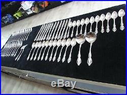 Oneida Stainless MICHELANGELO Flatware Silverware (61 pieces)- HEIRLOOM USA