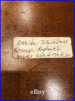 Oneida Stainless Steel Flatware Raphael Pattern