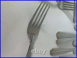 Oneida Stainless USA Silverware Flatware 57 Pieces