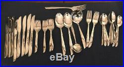 Oneida Twin Star Stainless Flatware Silverware 53 pieces Vintage Serving Ladle