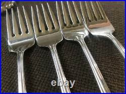 Oneida USA BANCROFT Stainless Flatware 4 Place Settings-Service For 4-20 Pcs