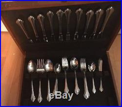 Oneida USA Stainless Flatware Bancroft 45 Pc. Place Setting For 8 Plus Serving