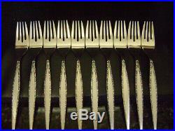 Oneida VENETIA 60 Piece Set CHEST Included Community Stainless Flatware