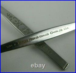 Oneida WM A Rogers Premier SPANADA Stainless Flatware Set of 79 Pieces