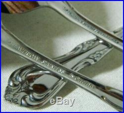 Oneida WM Dalton All American BRIARWOOD Stainless Flatware Set of 77pc