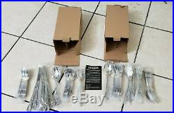 Oneida WORDSWORTH 91 Piece Stainless 18/0 Service for 12