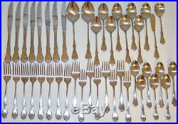 Oneida Wm A Rogers AMERICAN FREEDOM Premier Stainless Vintage 43 pc Set