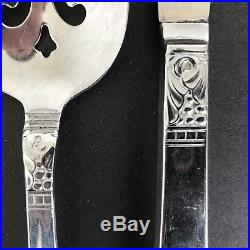 Oneida Wm A Rogers Northland Premier Stainless Flatware 59 Piece Mix Set Glossy