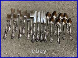 Oneida Wordsworth OCQ 18/8 Stainless steel USA Flatware 20 pc set
