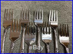 Oneida Wordsworth OCQ 18/8 USA Stainless Flatware 43 pieces
