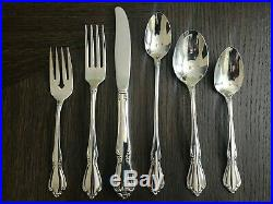 Oneida chateau stainless flatware set of 54 pieces