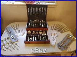 Oneida stainless flatware set