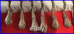 Pre-owned USA Oneida Deluxe Chateau Flatware Serving For 12 + Extras 66 Pc. Lot