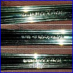 Preowned Circa 1979 43 piece Wm A Rogers Deluxe Oneida Ltd Flatware Set