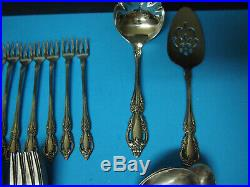 SERVICE for 8 Oneida RAPHAEL Distinction Deluxe HH Stainless Flatware 81 Pieces